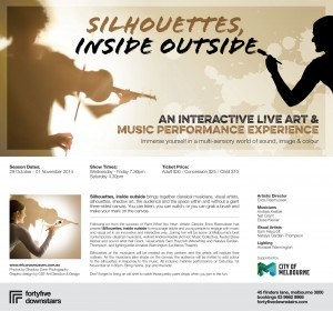 Silhouettes, inside outside FLYER
